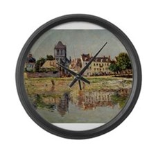 Cute Monet Large Wall Clock