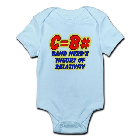 Band Nerd's Theory of Relativity Infant Bodysuit