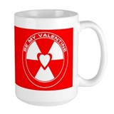 Mug - Rad Love - Be My Valentine - Red