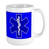 Blue Star of Life Mug