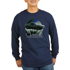 67 Mustang Long Sleeve Dark T-Shirt