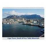 Table mountain south africa Wall Calendars