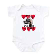 Swedish Vallhund Love Infant Creeper