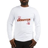 Jewish - Shmutzik - Dirty - Yiddish Long Sleeve T-