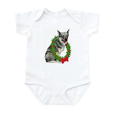 Swedish Vallhund Christmas Infant Creeper