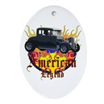 Rat Rod Ornament (Oval)