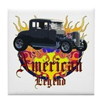 Rat Rod Tile Coaster