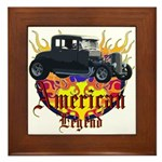 Rat Rod Framed Tile