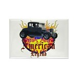Rat Rod Rectangle Magnet