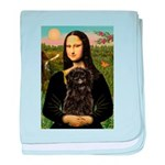 Mona - Affenpinscher3 baby blanket