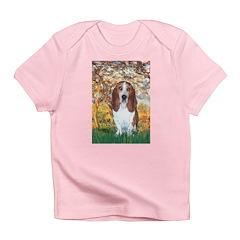 Monet's Spring & Basset Infant T-Shirt