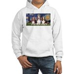 Starry Basset Hooded Sweatshirt