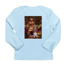The Path & Basset Long Sleeve Infant T-Shirt