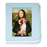 Mona's Beagle #1 baby blanket