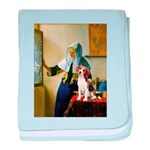 Woman w/Pitcher - Beagle baby blanket