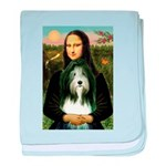 Mona / Bearded Collie baby blanket