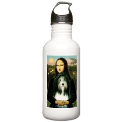 Mona / Bearded Collie Stainless Water Bottle 1.0L