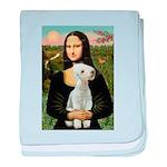 Mona / Bedlington(T) baby blanket