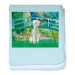 Bridge / Bedlington T baby blanket