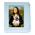 Mona /Cairn T baby blanket