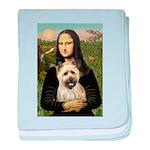 Mona / Cairn T (brin) baby blanket
