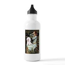 Ophelia & Bichon Water Bottle