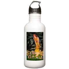 Mid Eve/Border T Stainless Water Bottle 1.0L