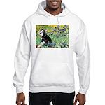Irises & Boston Ter Hooded Sweatshirt