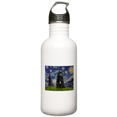 Starry Night Bouvier Stainless Water Bottle 1.0L