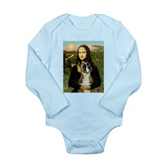 Mona & Boxer Long Sleeve Infant Bodysuit