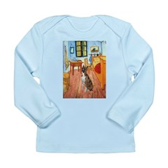 Room with a Boxer Long Sleeve Infant T-Shirt
