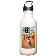 Room with a Boxer Stainless Water Bottle 1.0L