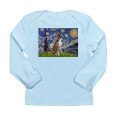 Starry / Boxer Long Sleeve Infant T-Shirt