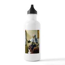 Woman & Boxer Water Bottle