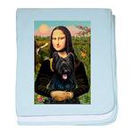 Mona / Briard baby blanket