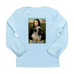 Mona /Bullmastiff Long Sleeve Infant T-Shirt