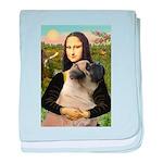 Mona /Bullmastiff baby blanket