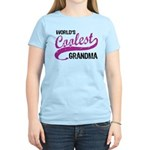 World's Coolest Grandma Women's Light T-Shirt