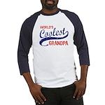 World's Coolest Grandpa Baseball Jersey