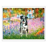 Garden / Catahoula Leopard Dog Small Poster