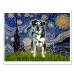 Starry / Catahoula Leopard Dog Small Poster