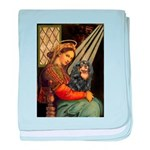 Madonna & Cavalier (BT) baby blanket
