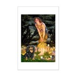 Fairies & Cavalier (BT) Mini Poster Print