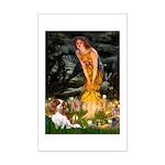 Fairies & Cavalier Mini Poster Print