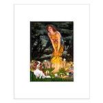 Fairies & Cavalier Small Poster