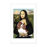 Mona's Cavalier Mini Poster Print