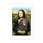 Mona's Cavalier (BT) Mini Poster Print