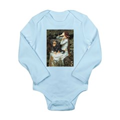 Ophelia & Cavalier (BT) Long Sleeve Infant Bodysui