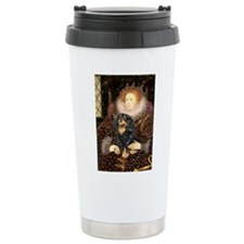 Queen & Cavalier (BT) Ceramic Travel Mug