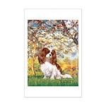 Spring & Cavalier Mini Poster Print